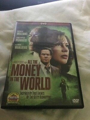 All the Money In The World (DVD,2017)****FREE SHIPPING***
