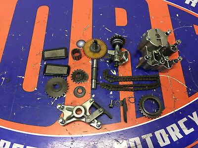 Kawasaki Water Pump / Oil Pump Drive Chain - Gear Set Vulcan Nomad 1500 87-08