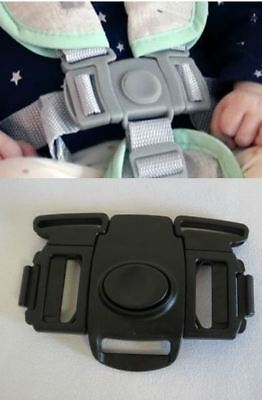 Baby HighChair Seat Safety 5 Point Harness Buckle Replacement For Graco DuoDiner