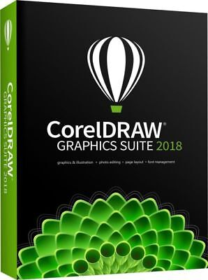 coral draw Graphics Suite‎ 2018