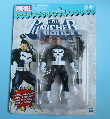 "The Punisher Retro Marvel Legends 6"" Vintage Action Figure"