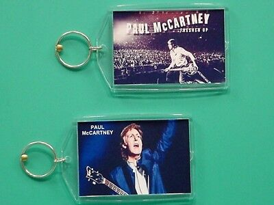 PAUL McCARTNEY - Freshen Up Tour - with 2 Photos - Collectible GIFT Keychain 02