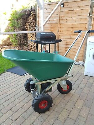 Motorised Electric Wheelbarrow Dumper Minidumper Used VGC New Battery & Charger
