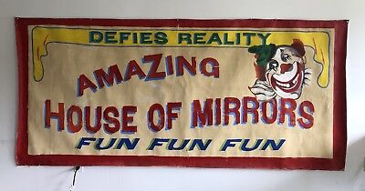 Carnival Side Show Banner