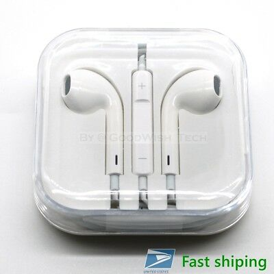 (New) Apple Original Earphone earbud In-Ear with Remote & Mic for iPhone (3.5mm)