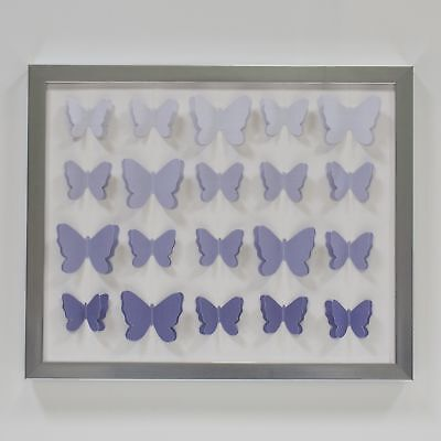 Lambs & Ivy Signature French Lavender Wall Decor - Purple, Modern, Butterfly