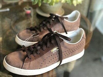 premium selection 705ef 5fd26 PUMA!! COURT STAR Citi, Nubuck Suede Leather athletic shoe Brown Men's SIze  11