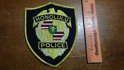 Honolulu Hawaii Police  Department  Patch   Bx 2#16