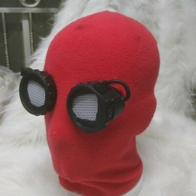 SpiderMan Homecoming Spider Man Red Eye Mask Peter Park Halloween Cosplay Prop
