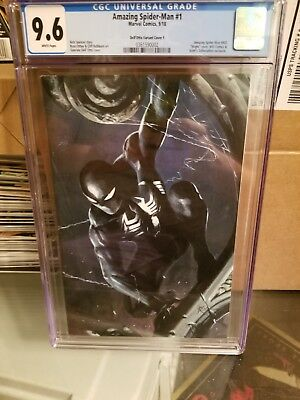 The Amazing Spider-Man # 1 2018 series CGC 9.6 Dell'otto virgin SDCC exclusive
