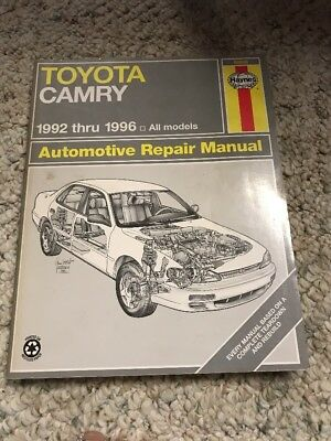mediatime.sn Toyota Camry Avalon Repair and Service Manual 1992 ...