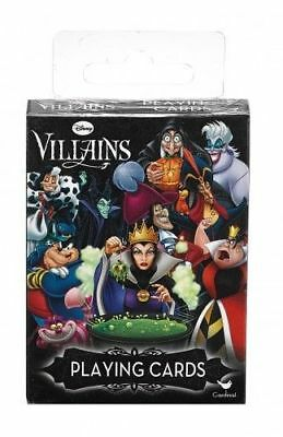 Disney CharacterThe  Villains Playing cards  sealed NEW