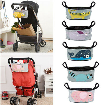 Baby Pram Cart Stroller Storage Bag Pushchair Buggy Holder Cup Bottle Organizer