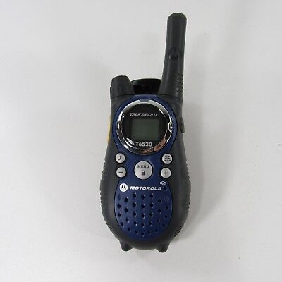 MOTOROLA TalkAbout T6530 10-Mile 22-Channel FRS/GMRS Two-Way Radio (BLUE)