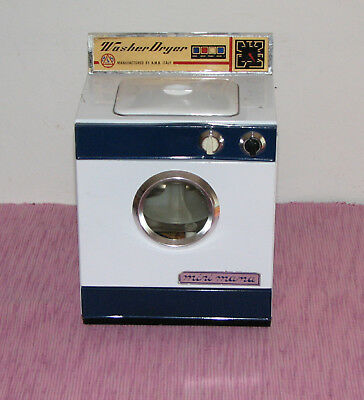 LAVATRICE WASHER DRYER MADE IN ITALY...Vintage