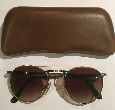 POLICE 2020 VINTAGE SUNGLASSES from 1980's in NEW CONDITION 48x21  NEW LENSES