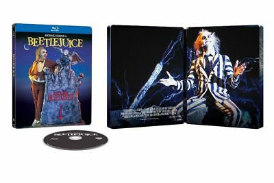 Beetlejuice FYE Exclusive Limited Edition Blu-ray Steelbook