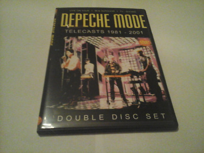 Depeche Mode 1981-2001 tv telecasts