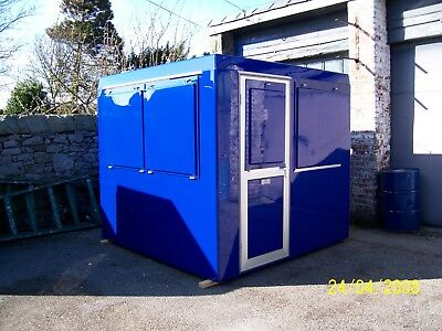 Car Park GRP Kiosk ticket office container cabin2400mm x 2400mm