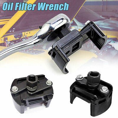 """Car Oil Fuel Filter Wrench Cup 1/2"""" Housing Tool Remover Hand Tool Adjustable"""