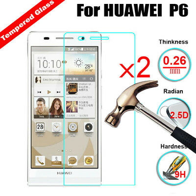 2X Premium 9H+ Tempered Glass Film Screen Protector Protection For Huawei Phone