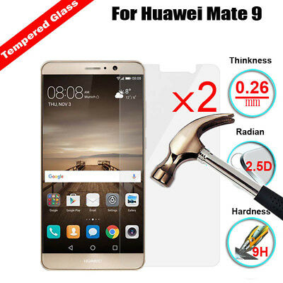 2X Premium Tempered Glass LCD Film Screen Protector Protection For Huawei Phone