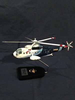 """Sikorsky S-61N """"Sea King"""" helicopter, scale model"""