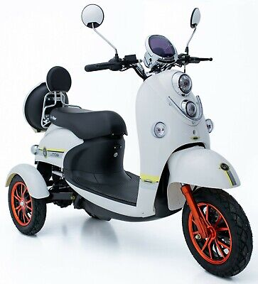Exclusive 3 Wheeled Electric Mobility Scooter Eco 60V 100AH 600W Unique