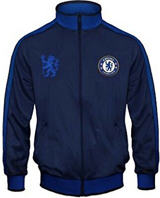 Chelsea FC Official Football Gift Boys Retro Track Top Jacket Medium