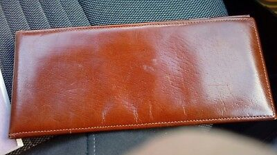 Leather Chequebook Wallet By Exemplar