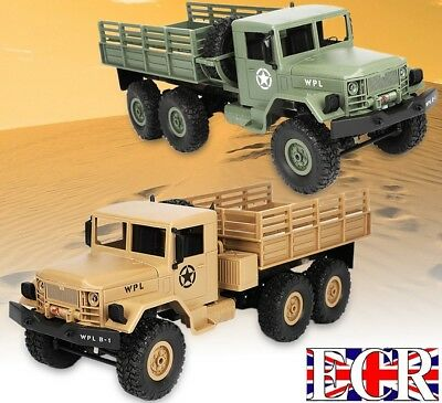 Wpl 1:16 Scale 2.4G Rc 6X6 Military Army Truck 6Wd Tank Combat. Henglong Vehicle