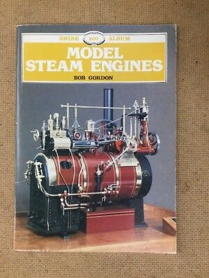 Model Steam Engines by Bob Gordon.  Shire 207.  1987.  Fast 1st Class Post !