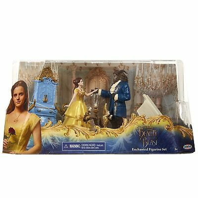 Disney Beauty and the Beast Belle Live Action Figure Figurine Set - Brand New