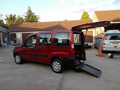 Wheelchair Car Disabled Car Wav Accessible Mobility  2008 Fiat Doblo Diesel Ramp