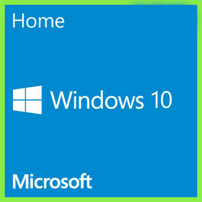 Windows 10 Home Edition 32 / 64 Bit FATTURABILE