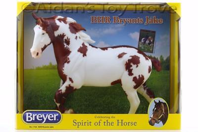Breyer BHR Bryant's Jake 1764   Traditional Horse Spotted Draft Wixom New In Box