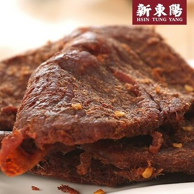 Hsin Tung Yang Beef Jerky Super Hot Flavor Snacks 100g [新東陽麻辣激辛辣味牛肉乾]