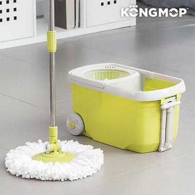 Kong Mop Revolving Mop Bucket With Wheels 360º Easy Clean Spinning