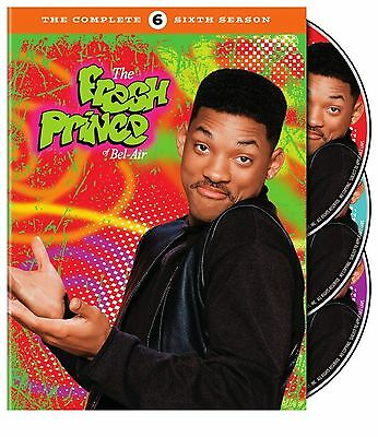 THE FRESH PRINCE OF BEL AIR the complete sixth series 6. Region free. New DVD.