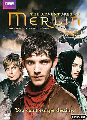 Merlin: The Complete Second Season (DVD, 2011, 5-Disc Set) Brand New