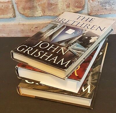 JOHN GRISHAM lot of 3 books CHAMBER Hardcover FREE SHIP set book SUMMONS CHAMBER