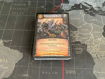 Chivalry and Deceit Almost Complete Full Set 47/48 WarCry CCG Warhammer TCG