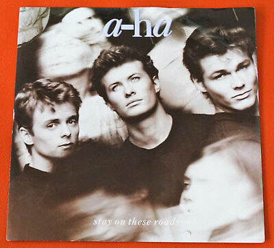 """7"""" Single - A-HA Stay on these roads"""