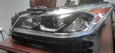 2016 2017 Honda Accord Touring Driver Left Led Headlight Oem