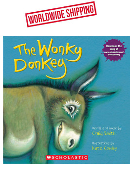 The Wonky Donkey by Craig Smith Paperback Book October 25, 2018 Release Date
