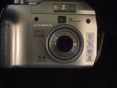 Olympus C-5000 5MP Digital Camera w/ 3x Optical Zoom