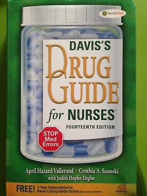 daviss drug guide for nurses fourteenth edition