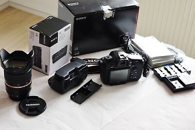 Sony Alpha SLT-A99V 24.3 MP mit sony Batteriegriff