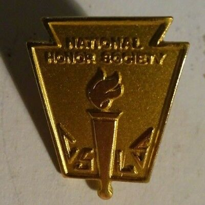 Vintage National Honor Society Lapel Pin High School Student NHS