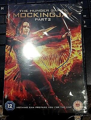 Brand New DVD Factory Sealed The Hunger Games Mockingjay Part 2